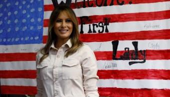 Melania Trump visitará centros migratorios Estados Unidos