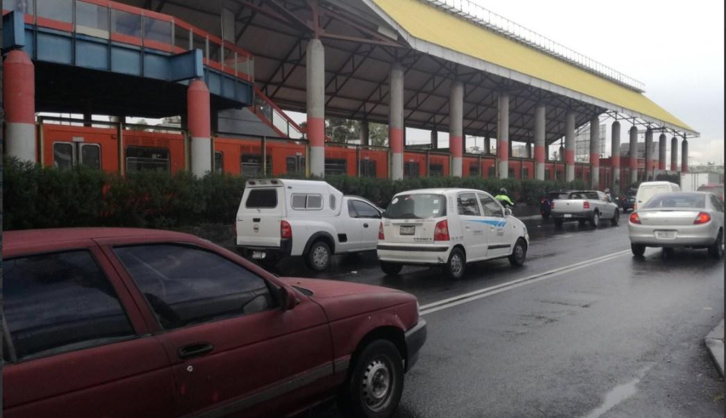 Metro CDMX implementa marcha lenta por lluvias