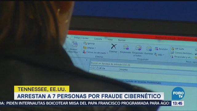 Mexicano Detenido Fraude Cibernético Estados Unidos