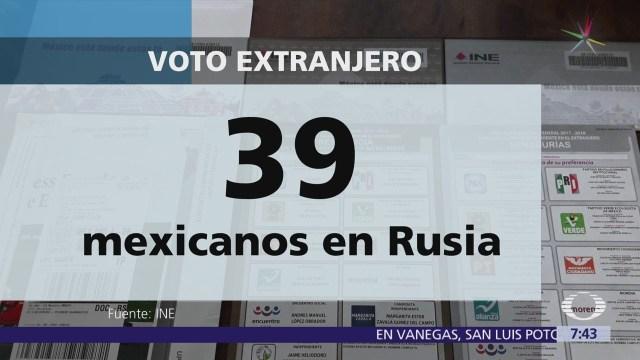 Mexicanos en Rusia por el Mundial,
