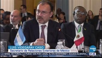 México reitera rechazo al muro fronterizo