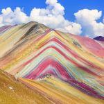 'Montaña de los Siete Colores' en Perú