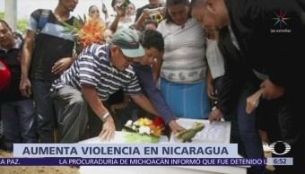 Muere bebé de 14 meses por bala perdida en Managua