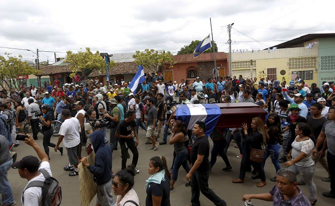 Obispo de Managua clama por una Nicaragua libre,