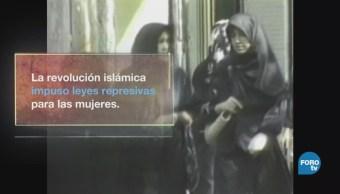 Mujeres iraníes luchan por colarse a la cancha