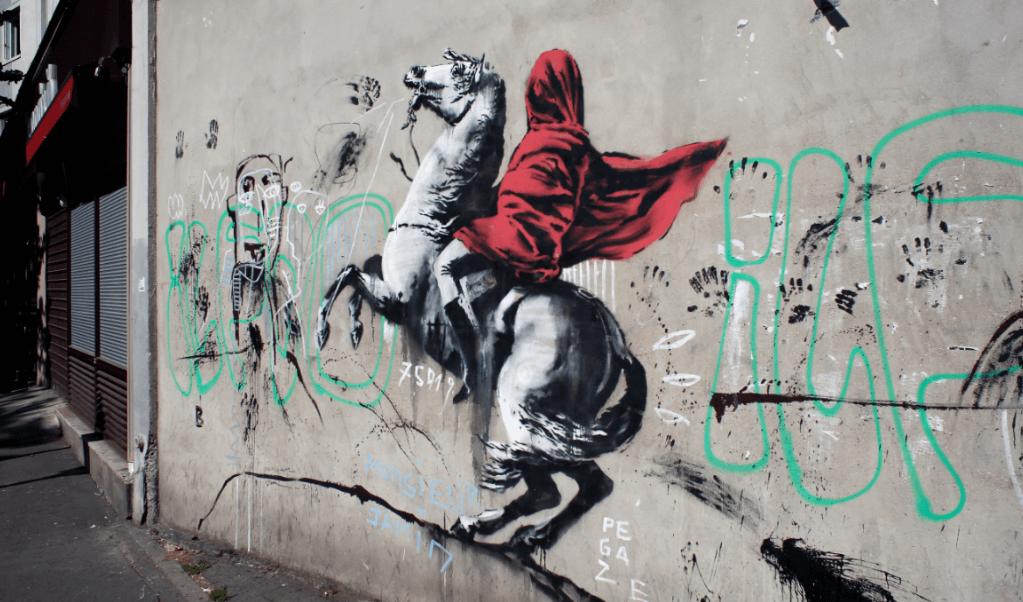 Atribuyen a Banksy nuevos murales en París