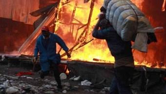 incendio mercado kenia deja 15 muertos y 70 heridos