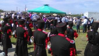 Despiden a menor que murió por bala perdida en Reynosa, Tamaulipas