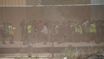 Marchan en El Paso, Texas, contra separación de familias migrantes