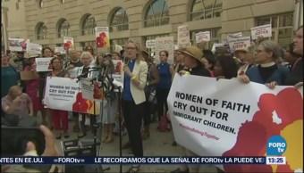 Mujeres Protestan Washington Separación Familias