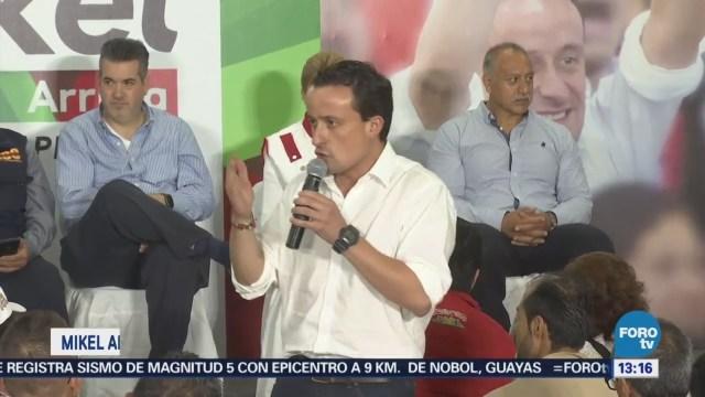 Mikel Arriola Reúne Vecinos Tlalpan Iztapalapa