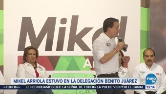 Mikel Arriola Acusa Gobierno Cdmx Compra Votos