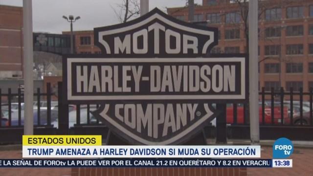 Harley Davidson Trasladará Producción Europa