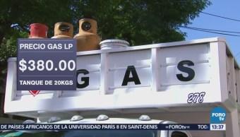 Sube Precio Gas Lp 3.6% Según Cre