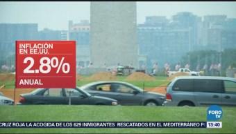 Aumenta Inflación 0.2 Estados Unidos