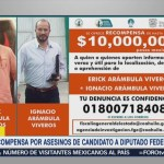 recompensa por homicidas candidato Fernando Purón
