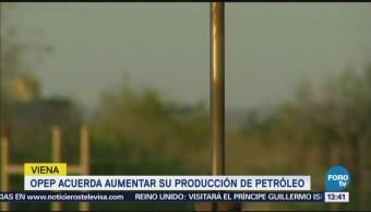OPEP aumentará producción real de crudo