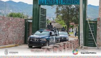 Inician los operativos de seguridad en la sierra de Guerrero