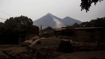 Cenizas de Volcán de Fuego podrían llegar a Tapachula