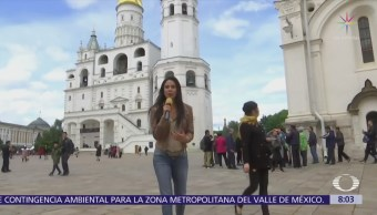 Paola Rojas visita el interior del