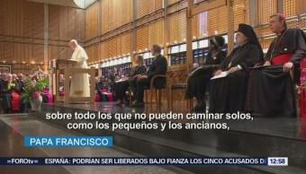 Papa Francisco asiste al Consejo Ecuménico de las Iglesias