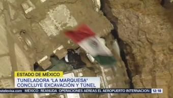 Concluye Construcción Túnel Para Tren Interurbano Cerro Tres Cruces
