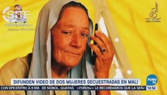 Difunden Video Dos Mujeres Secuestradas Mali