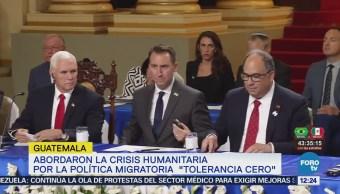 Pence Aborda Crisis Humanitaria Eu Ante Presidentes Centroamérica