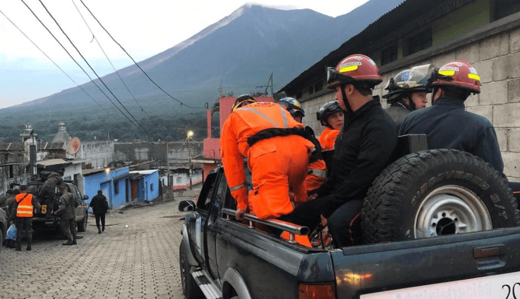 Sin mexicanos afectados por la erupción del Volcán de Fuego