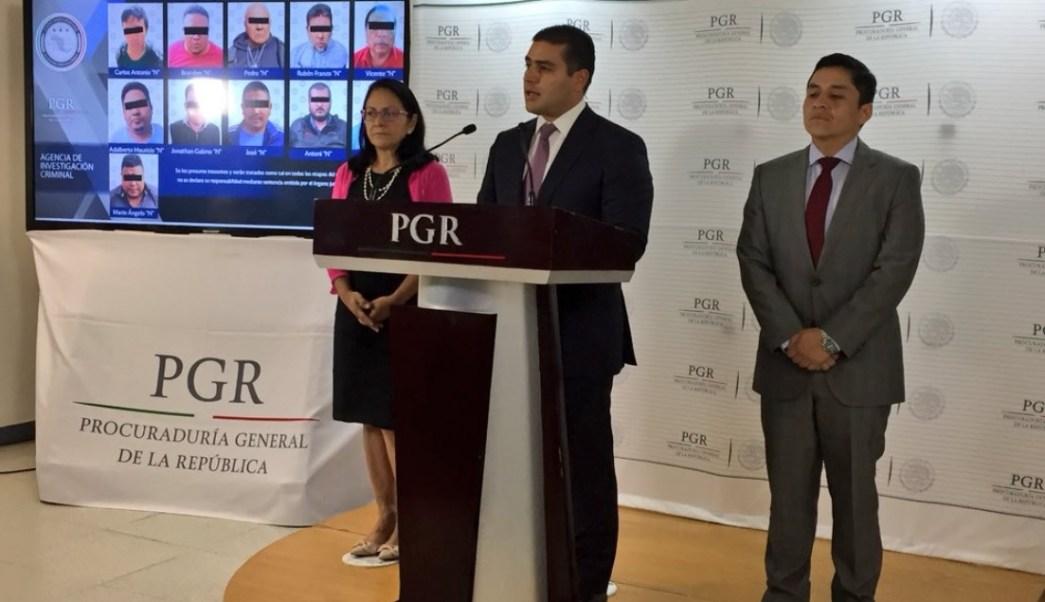 PGR detiene a 28 presuntos secuestradores que operaban en la CDMX y Edomex
