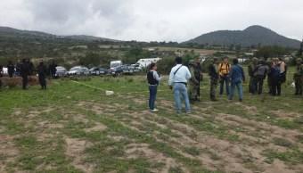 Balacera deja un policía muerto en Cañada Morelos, Puebla