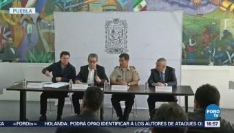 Policías Puebla Aseguran Camioneta Combustible Robado