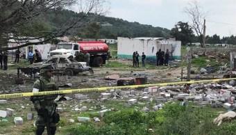Explota polvorín en Tultepec, Edomex; se reporta un muerto