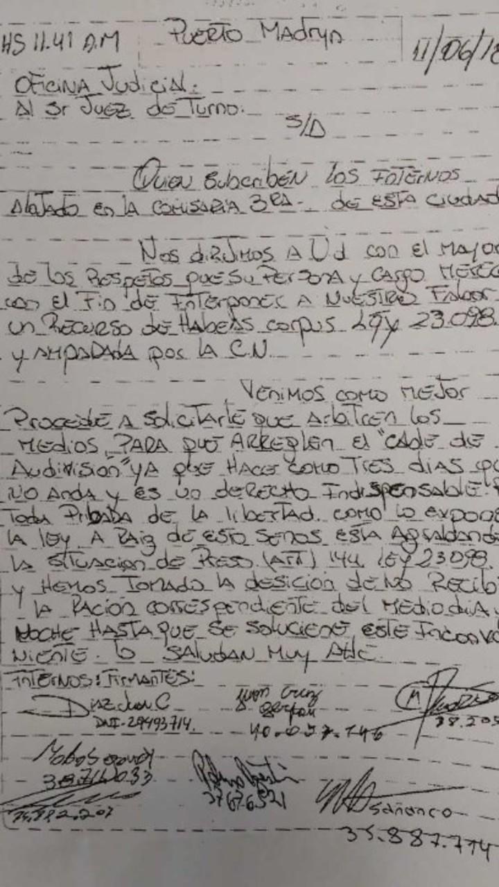 presos-organizan-huelga-hambre-poder-ver-mundial-documento-argentina