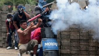 'Parapolicías' controlan carretera Nicaragua ataque ciudades