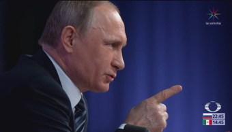 Putin responde a preguntas de los