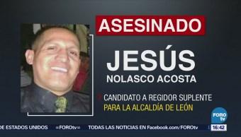 Asesinan Candidato Guanajuato Jesús Nolasco Acosta