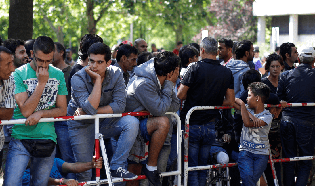 Trump critica a Alemania por sus políticas de inmigración