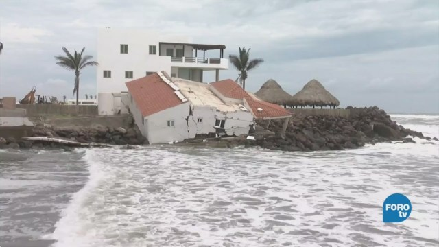 """Remanentes de """"Bud"""" continúan causando daños en Sinaloa"""