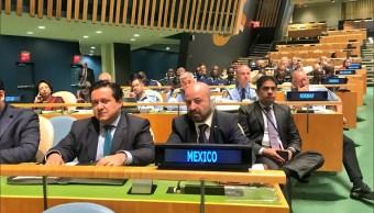 Renato Sales ONU: México ha participado en ocho misiones de paz