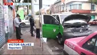 Reportan choque en la colonia Anáhuac, CDMX