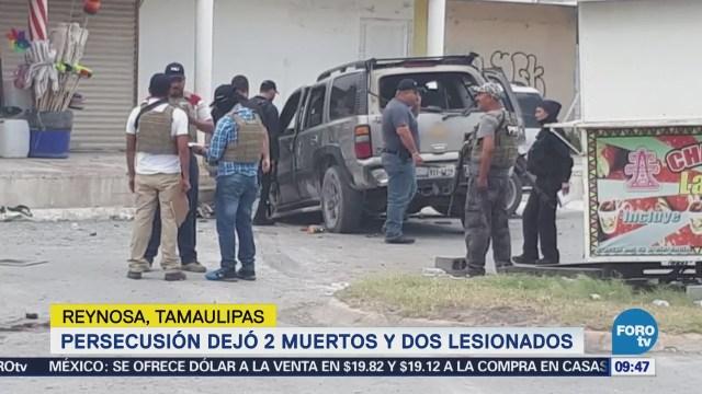 Reportan dos muertos y dos lesionados por balacera en Reynosa