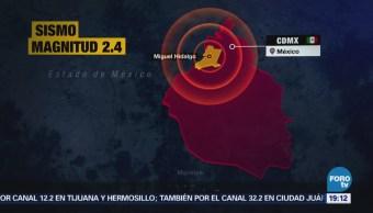 Reportan Sismo Ciudad De México Del Valle