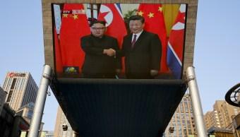 Xi Jinping elogia a Kim por cumbre con Trump
