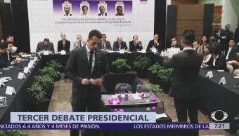 Ricardo Anaya abrirá y cerrará intervenciones en tercer debate presidencial
