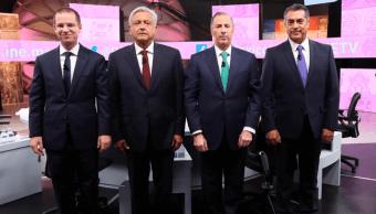 Las reacciones de los candidatos tras el tercer debate