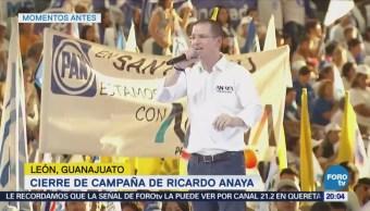 Ricardo Anaya convoca a la gente buena