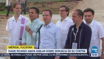 Ricardo Anaya Evita Hablar Acusaciones Contra
