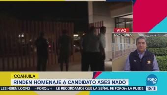 Rinden Homenaje Candidato Asesinado Fernando Purón