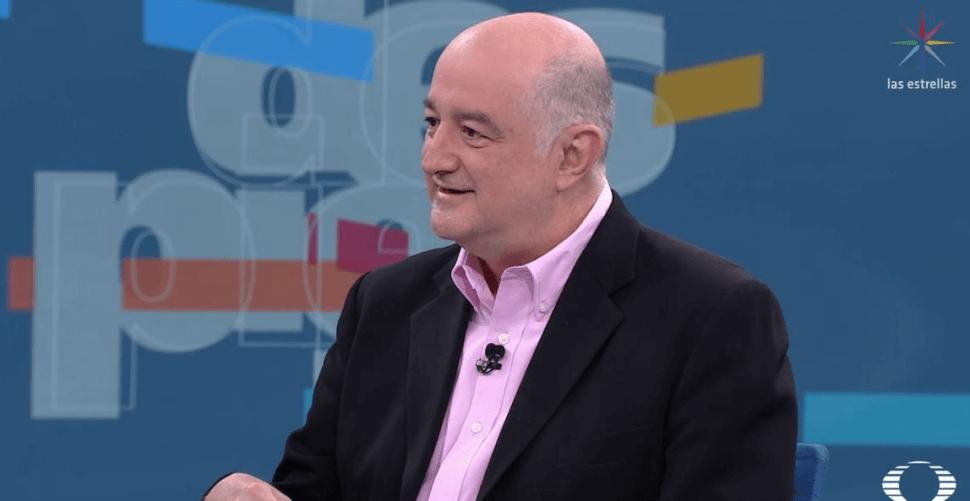 Roy Campos, director de Consulta Mitofsky. (Noticieros Televsia)